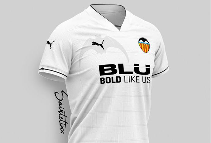 adcb8df3a Nuevas propuestas para la camiseta del Valencia CF 2019-2020