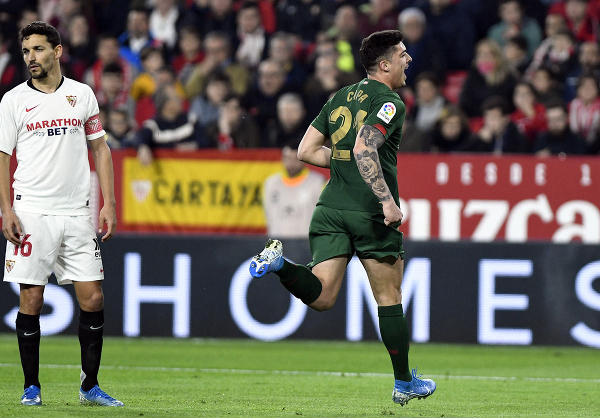 Sevilla - Athletic: Gol de Ander Capa, en Vídeo, Jornada 19