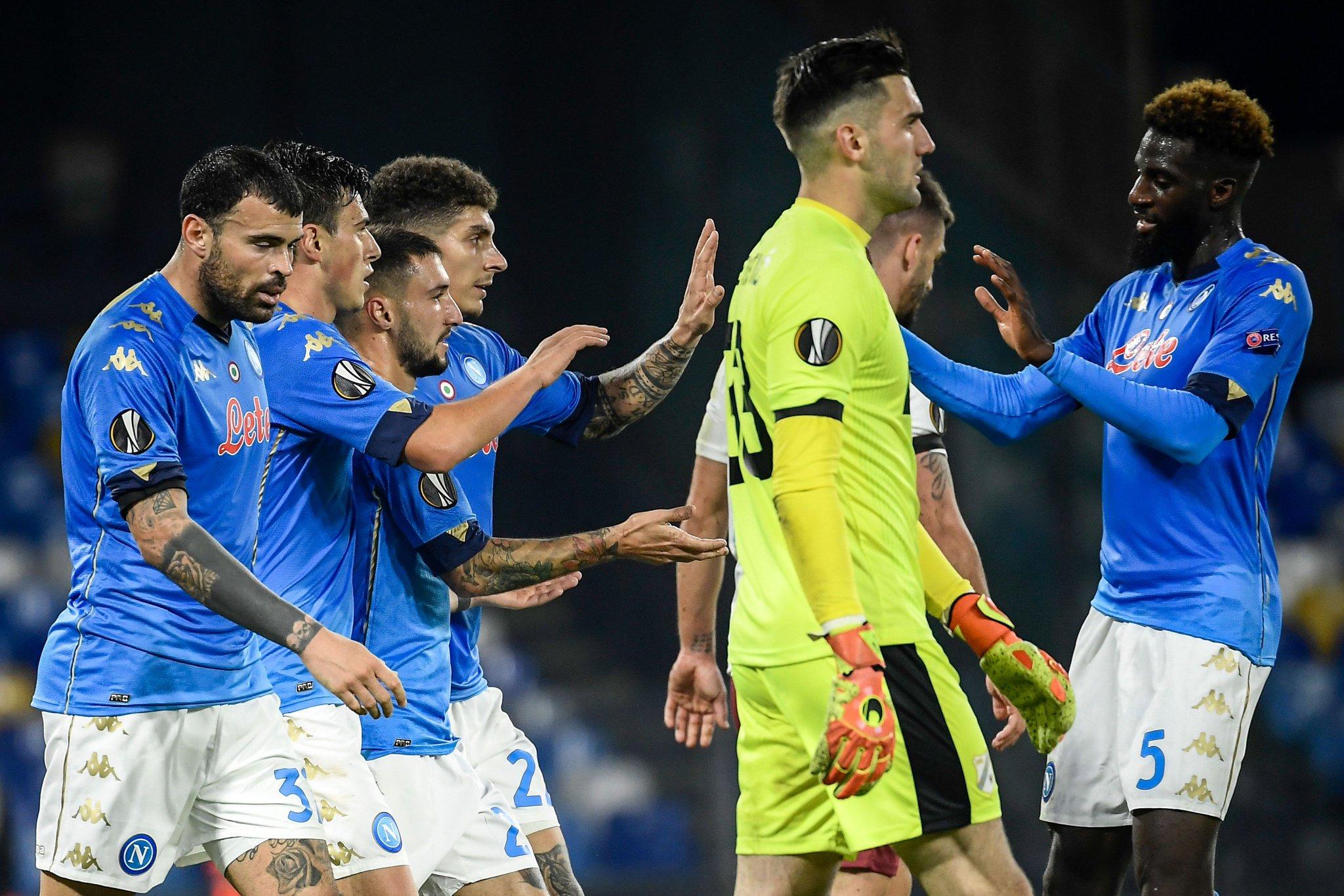 Napoli - Rijeka: el Resumen en Vídeo de la Europa League