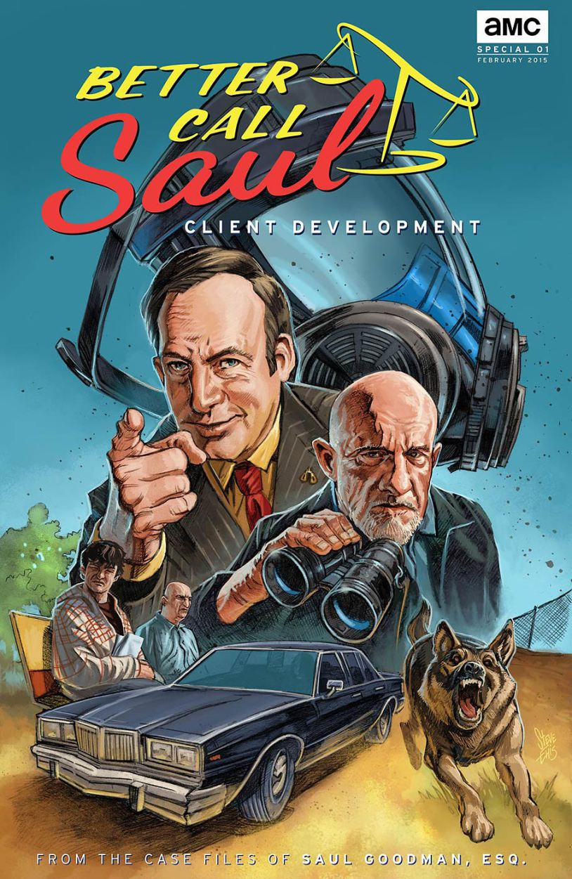 Portada del cómic de <em>Better Call Saul</em>