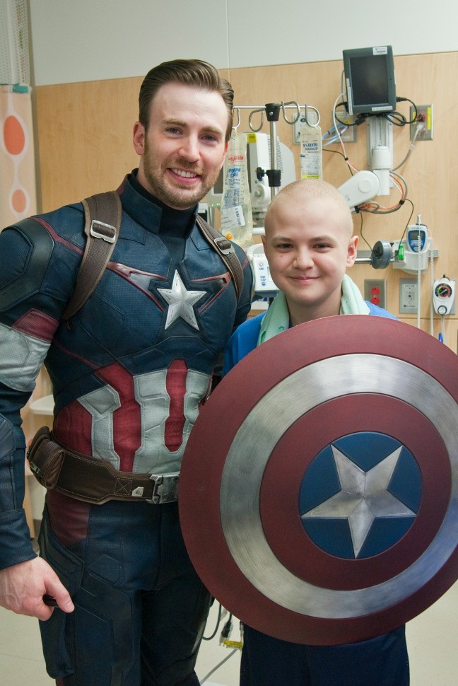 Chris Evans, Capitán América