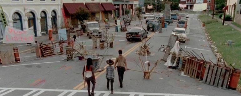 La parte de Grantville en la que se rodó el 3x12 de The Walking Dead