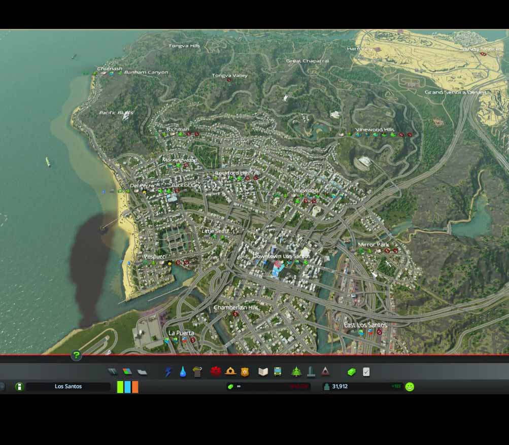Los Santos GTA V Cities Skylines