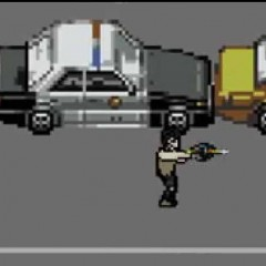 The Walking Dead convertido en videojuego de 8 bits