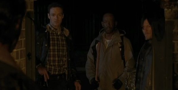 Morgan Daryl Aaron The Walking dead
