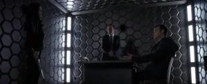 Coulson en mitad de una discusión intergaláctica