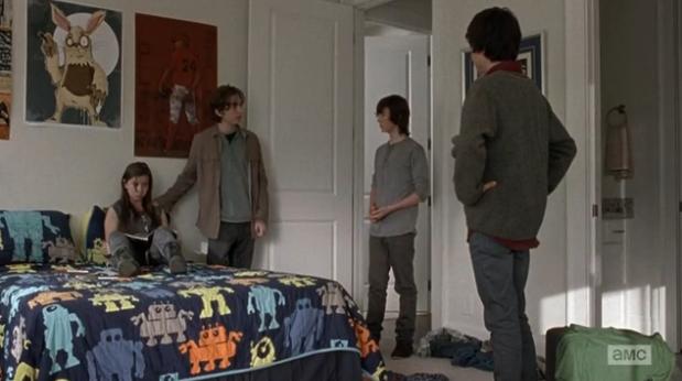 Ron, Mikey, Edin The Walking Dead