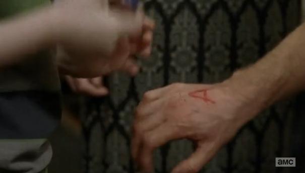 """A"" Alexandría en The Walking Dead Rick"