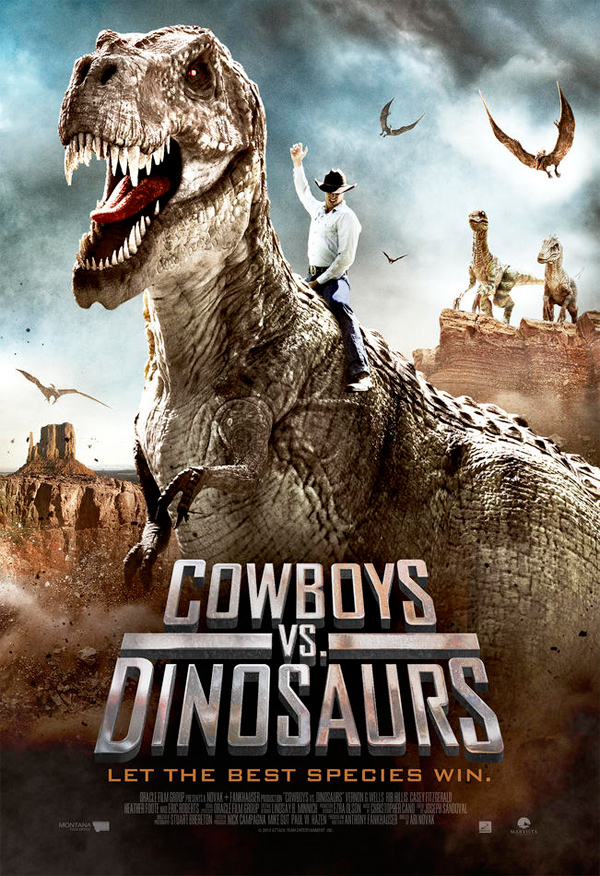 Cowboys Vs Dinosaurs Poster