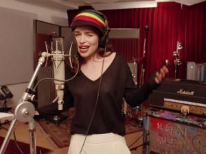 Emilia Clarke Rastafarian Targaryen