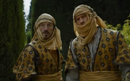Jaime Lannister Bronn Dorne