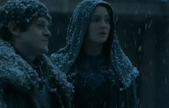 Ramsay y Sansa Invernalia 5x07