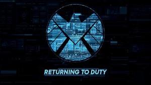 Póster promocional de Agents of Shield 3ª temporada.