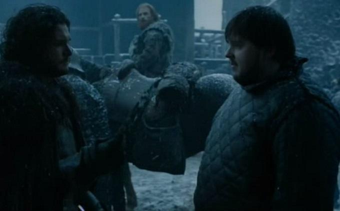 Jon Snow Tarly vidriagón