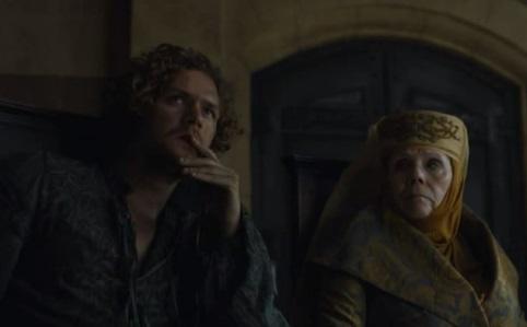 Loras y Olenna Tyrell
