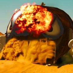 La parodia de Mad Max como si fuera Mario Kart
