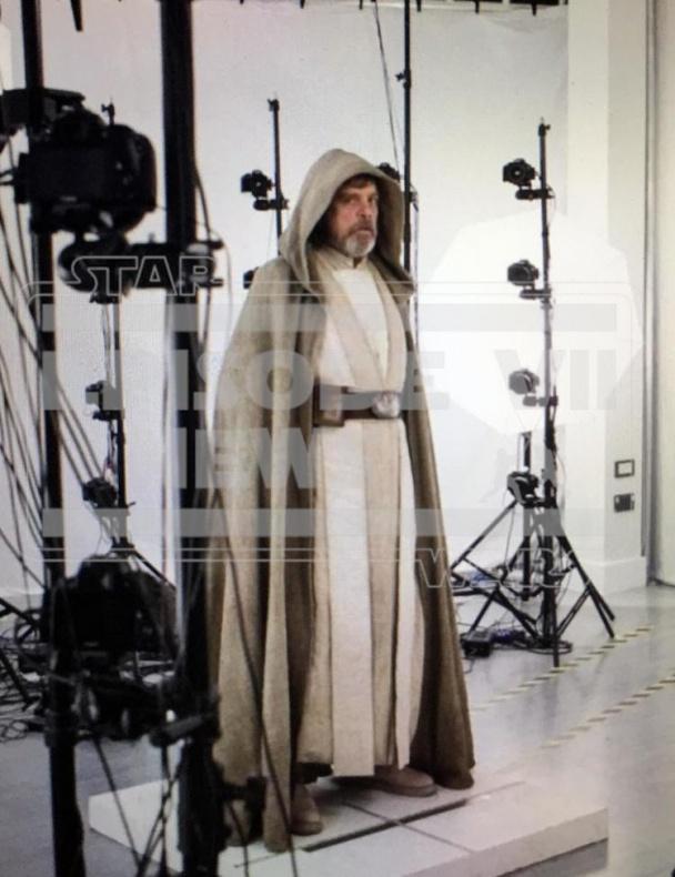 Luke Skywalker Mark Hamill Star Wars VII