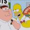 Crossover de Padre de Familia y Los Simpson el 24 de agosto en España