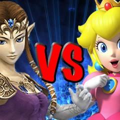 Zelda vs Peach: combate para demostrar que princesa es mejor