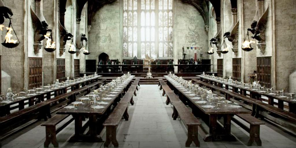 Gran Salón Comedor Hogwarts Harry Potter