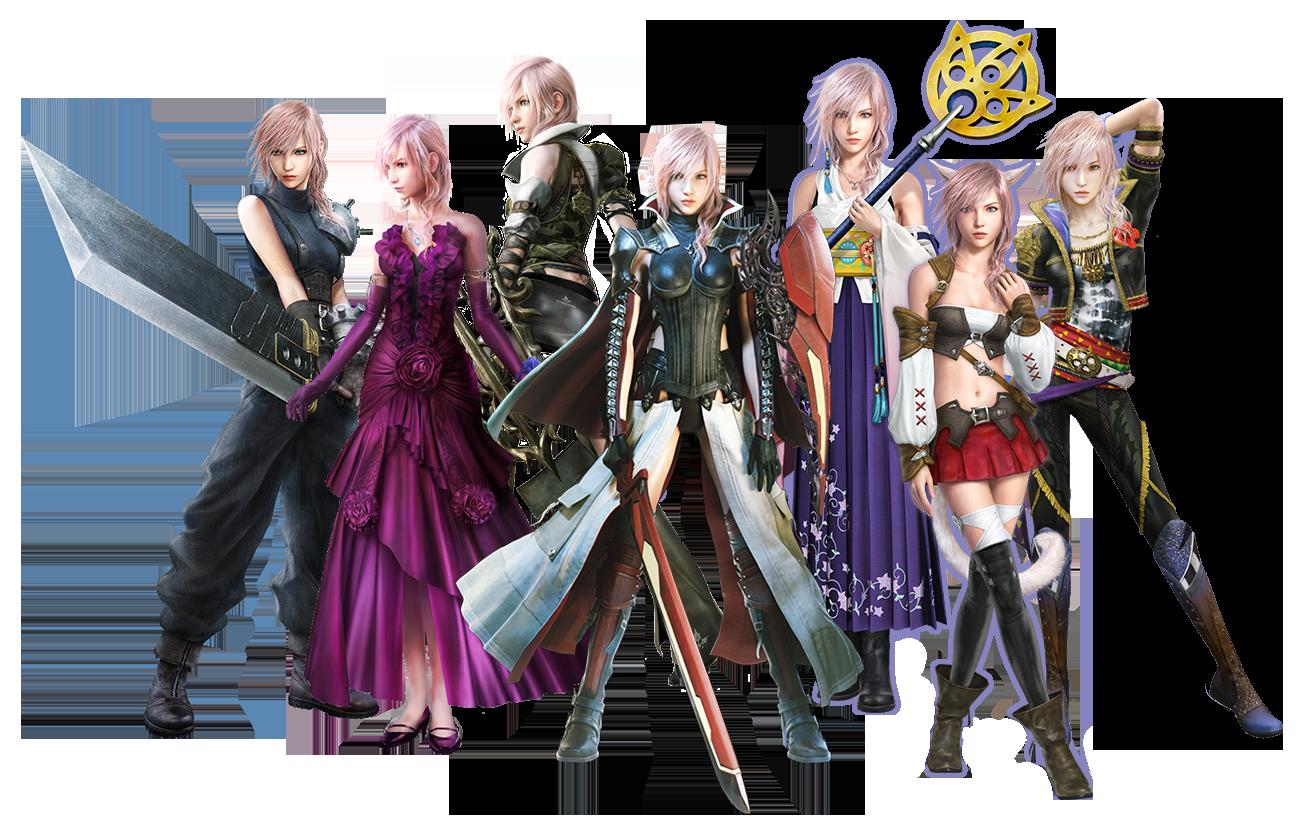 Final Fantasy XIII es el mayor ejemplo de fracaso comercial: tres entregas que prometen mejorar a las anteriores sin conseguirlo, y con un juego final que recurre al Fan Service excesivo como último recurso