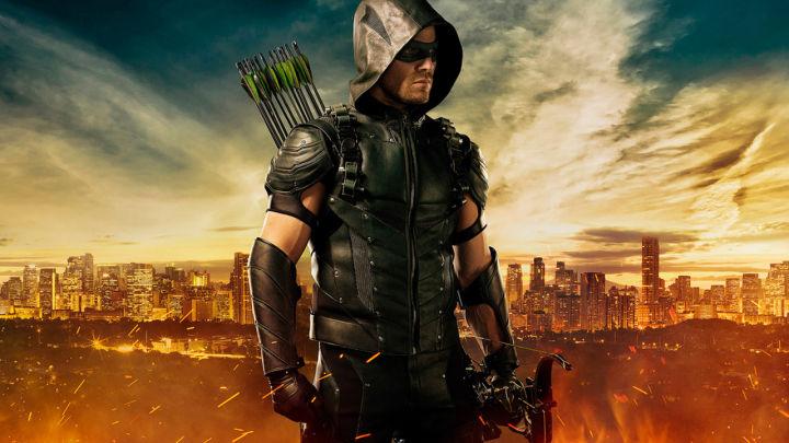 El nuevo aspecto de Oliver Queen/Arrow