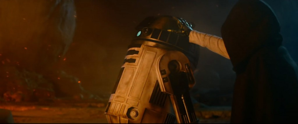 Star Wars trailer Luke R2D2