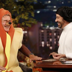 Harrison Ford habla sobre El Poder de La Fuerza en Jimmy Kimmel