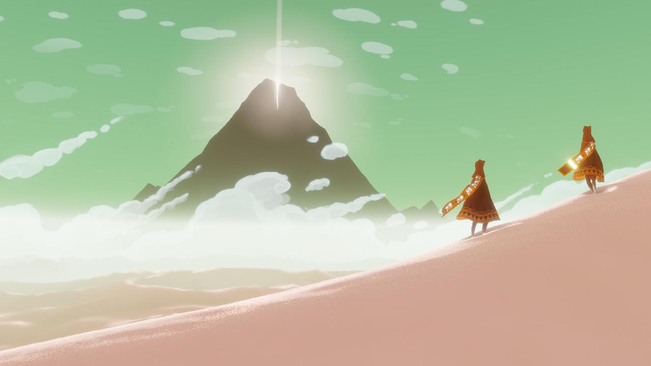 Journey nos habla de un viaje, sin grandes desafíos ni rivales que abatir