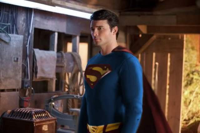 tom welling superman smallville the flash