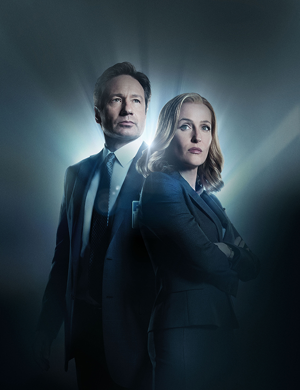 Expediente X Mulder y Scully