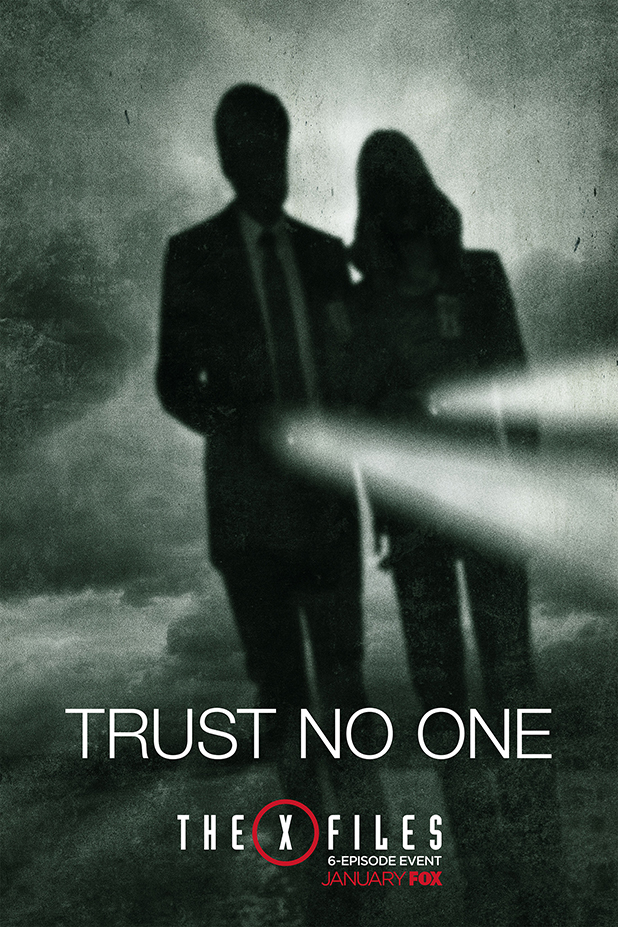Expediente X poster No Trust