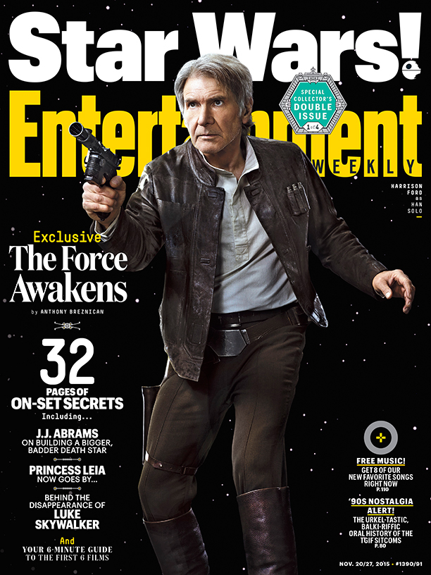 Star Wars VII Poster EW Han Solo