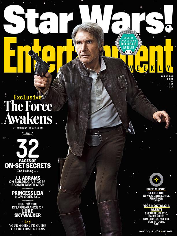 Star Wars VII Poster EW Han Solo