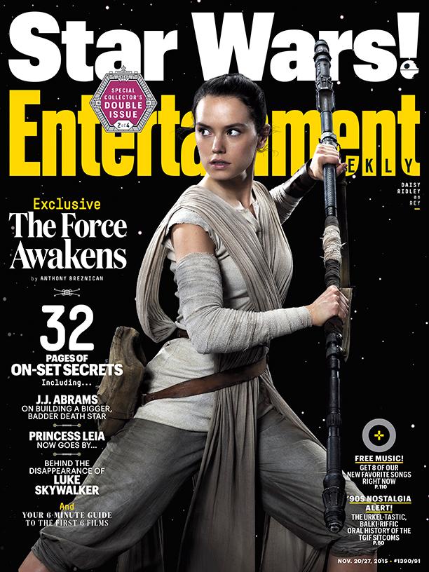 Star Wars VII Poster EW Rey
