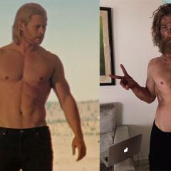 Chris Hemsworth y su metamorfosis para su nueva película