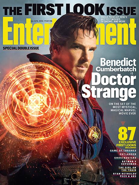 Benedict Cumberbatch Doctot Extraño Portada EW