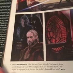 Hayden Christensen podría haber re-aparecido en el Episodio VII de Star Wars