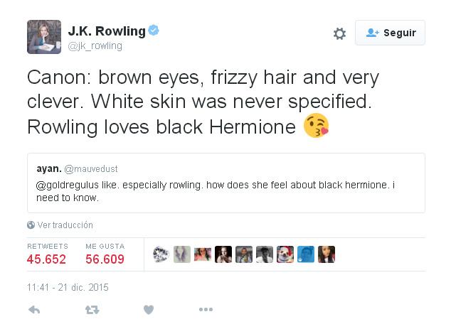 J.K. Rowlking Cursed Child