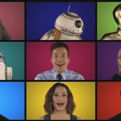 Los protagonistas de Star Wars cantan a capella la Banda Sonora