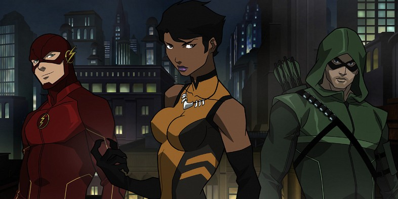 arrow ficha a vixen