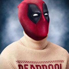 Así es una página de guion de Deadpool