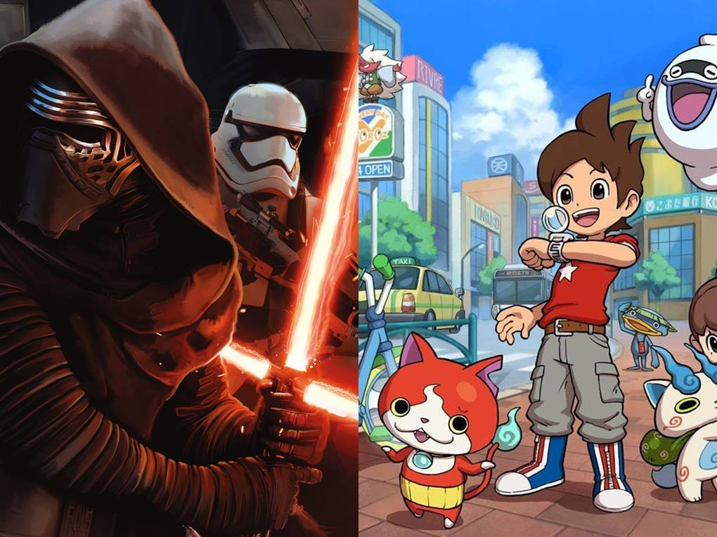 star wars y YO-KAI WATCH