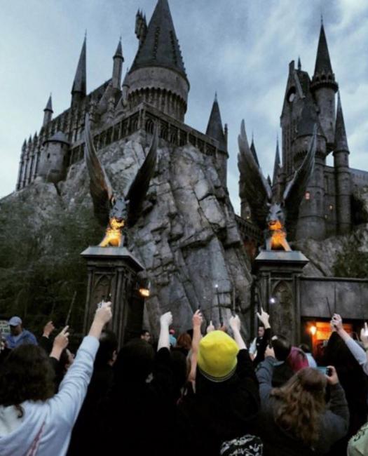 Alan Rickman Always Hogwarts Universal Studios
