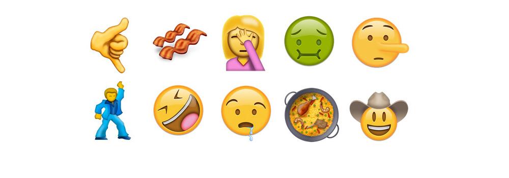 Emojis iOS WhatsApp