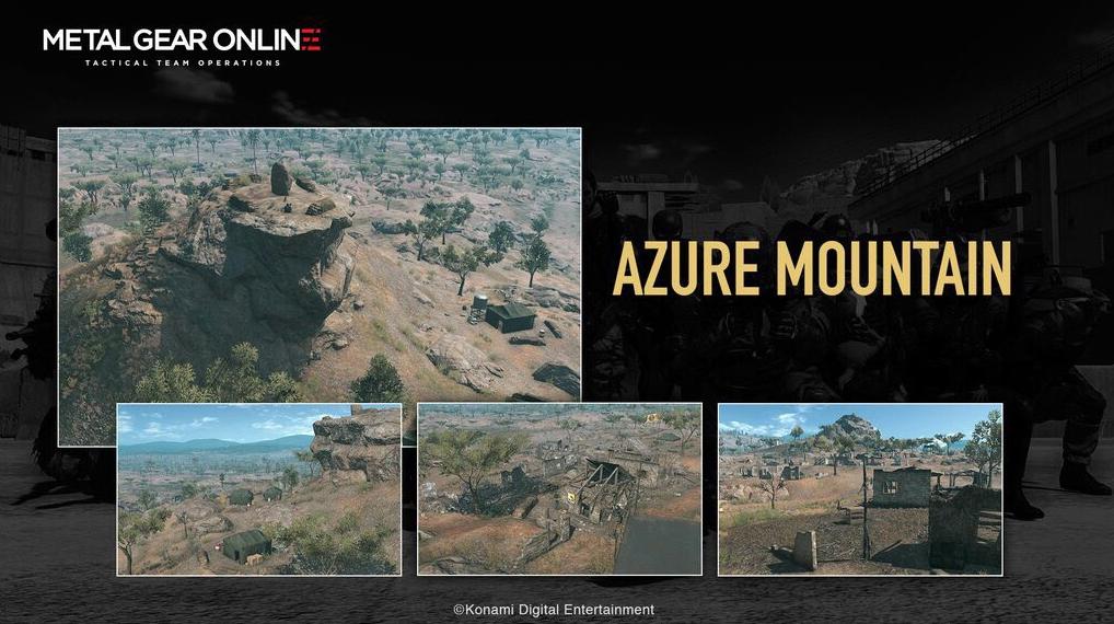 Metal Gear Online Azure Mountain