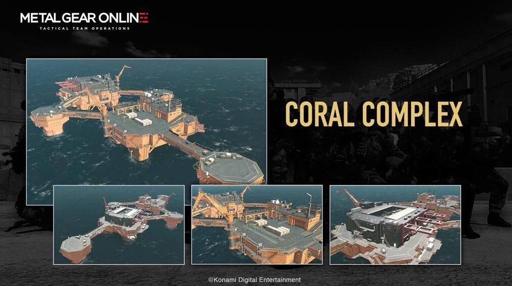 Metal Gear Online Coral Complex