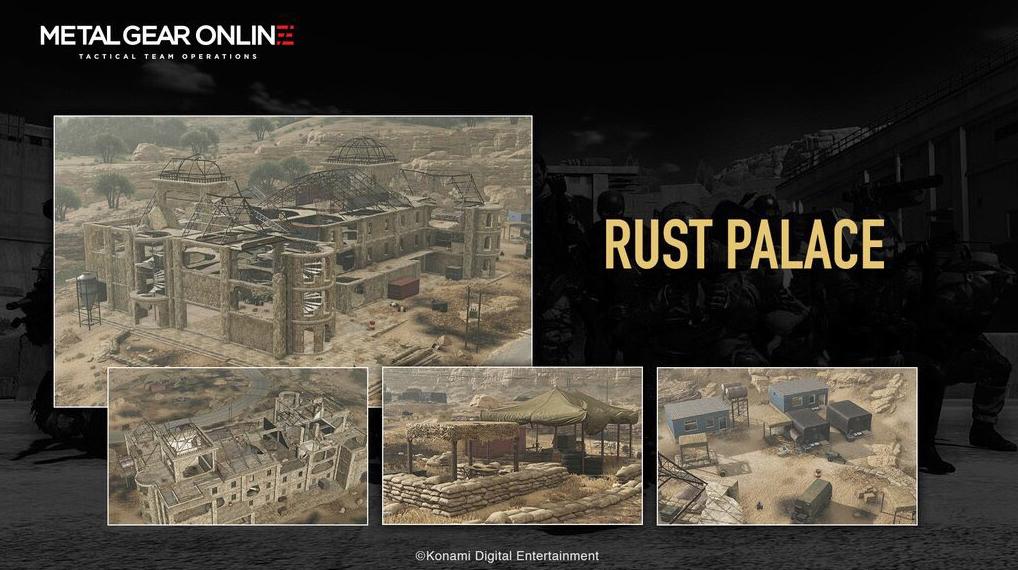 Metal Gear Online Rust Palace