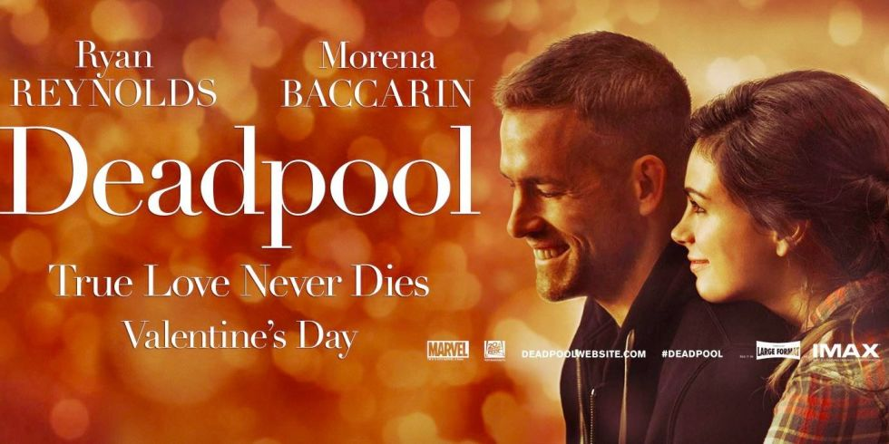 deadpool poster romantico