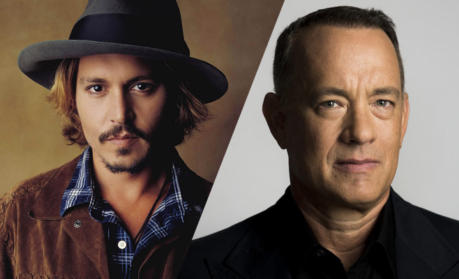 Johnny Depp y Tom Hanks